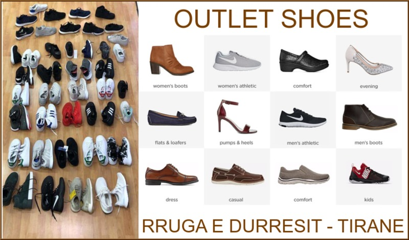 OUTLET SHOES - RRUGA E DURRESIT